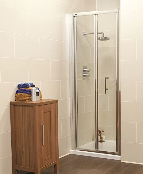 Kyra Range 950 Bifold Shower Enclosure Amazon Co Uk Kitchen Home