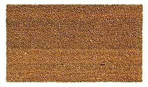 ARVIX 221 alfombra/Felpudo, coco, Vinilo-Reverso, 60 x 33 x 1,4 cm, Beige