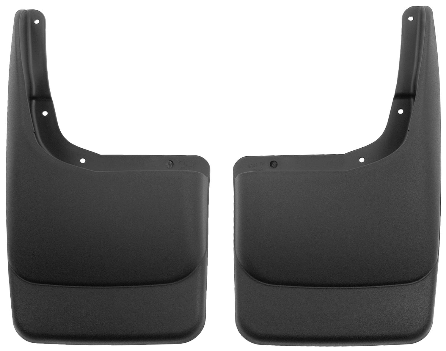 without OEM Fender Flares and without running boards Custom Front Mud Guards Husky Liners Fits 2004-14 Ford F-150