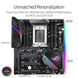 ASUS ROG ZENITH EXTREME AMD Ryzen Threadripper TR4 DDR4 M.2 U.2 X399 E-ATX HEDT Motherboard with onboard WiGig 802.11AD WiFi, USB 3.1, and AURA Sync RGB Lighting
