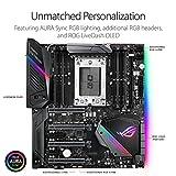 ASUS ROG Zenith Extreme AMD Ryzen Threadripper TR4 DDR4 M.2 U.2 X399 E-ATX HEDT Motherboard with onboard WiGig 802.11AD WiFi, USB 3.1, and Aura Sync RGB Lighting
