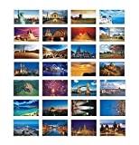 Beautiful World Travel Scenery 30 PCS Artistic Retro Postcards#B