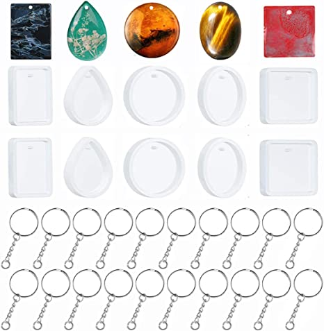 DIY Silicone Mold Jewelry Making Resin Casting Epoxy Craft Charms Mould