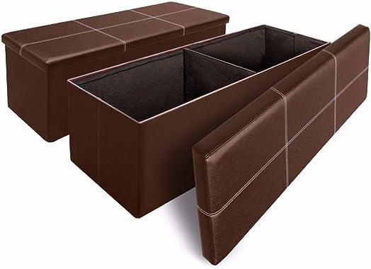 Otto Ben 2pc Set Folding Toy Box Chest