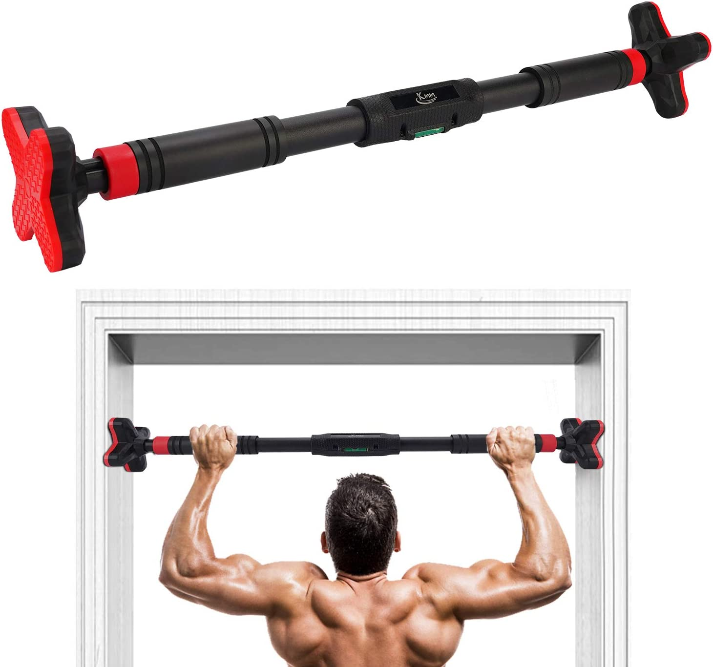 Workout For Home Gym Exercise Chin-Up Bars Pull-Up Bar Doorway Trainer