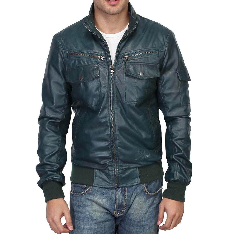 Bareskin Men's Regular Fit Customize Leather Jacket