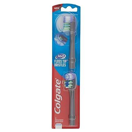 Colgate - Cabezal para cepillo de dientes, 3 paquetes de 2 cabezas - Total: