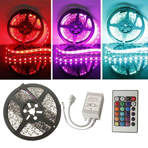 [5M RGB 300 LED 5050 SMD Non-Waterproof LED Strip Light 12V DC] (Spectra Costumes)