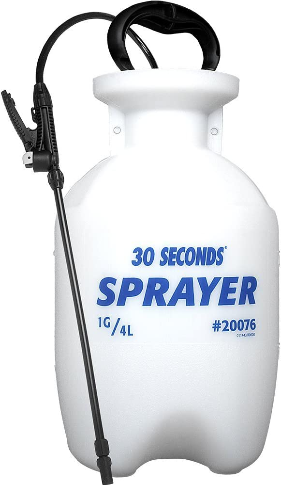 30 SECONDS Outdoor Cleaner, 1 Gallon - Sprayer