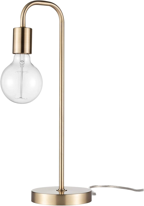"""Holden 18"""" Table Lamp, Matte Brass"""