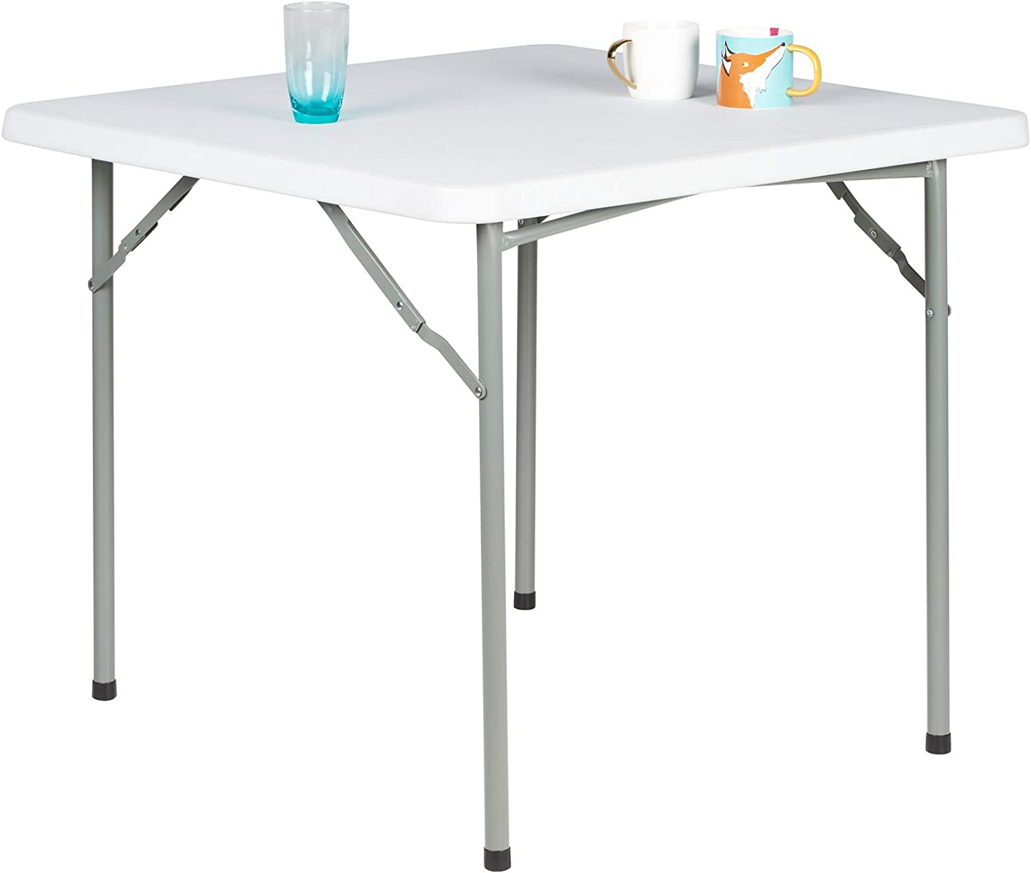 Hartleys 3ft Handy Square Folding Table Suitable For Indoor Or Outdoor Use Amazon Co Uk Garden Outdoors