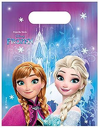 Disney Frozen Elsa & Anna Girls Party bags - purple