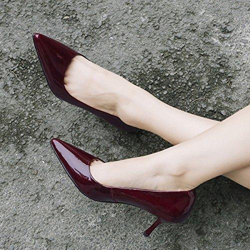 Kvinder Den Sex Sko Med Overfladisk Sæsoner Højhælede Mund Enlige Fire Dhg Pegede 39 Ene tqvwPgH