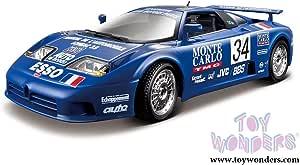 Bburago 3045 Bugatti EB 110 gelb MIB Neu NOS OVP ST 1306-14-21