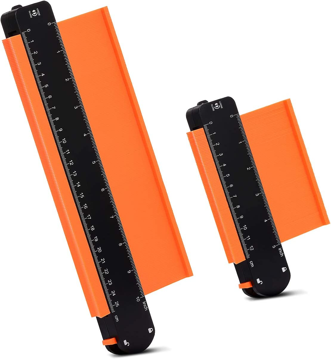 ajustable Dispositivo de medici/ón de contorno preciso Herramienta duplicadora para perfiles irregulares Medidor de Contornos con Bloqueo Calibrador de contorno con dispositivo de bloqueo