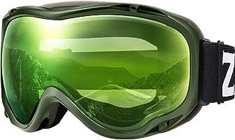 ZIONOR Lagopus 滑雪滑雪護目鏡 防紫外線防霧雪護目鏡 男女青年
