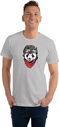 Art Gallery Misr Panda Gray T-Shirt