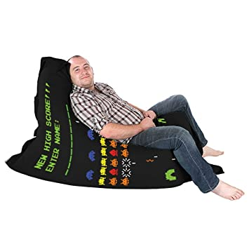 rucomfy Bean bags Gamer Retro Frijol Squarbie Squashy Bolsa-Junior: Amazon.es: Hogar