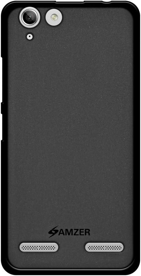 AMZER Pudding Soft Gel TPU Skin Fit Case Cover for Lenovo Vibe K5, Plus - Black