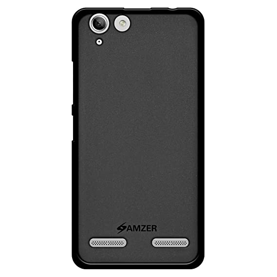sneakers for cheap 1554c ce9f7 AMZER Pudding Soft Gel TPU Skin Fit Case Cover for Lenovo Vibe K5, Plus -  Black