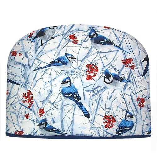 Blue Moon Teapot Tea Cozy Blue Jay Tea Cozy Double Insulated Tea Cozy
