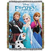 Frozen, Frozen Fun Woven Tapestry Throw, 48