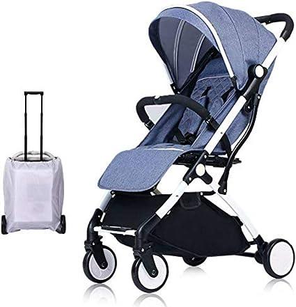 Carro de bebé Silla de paseo ligera y compacta,cochecito de ...
