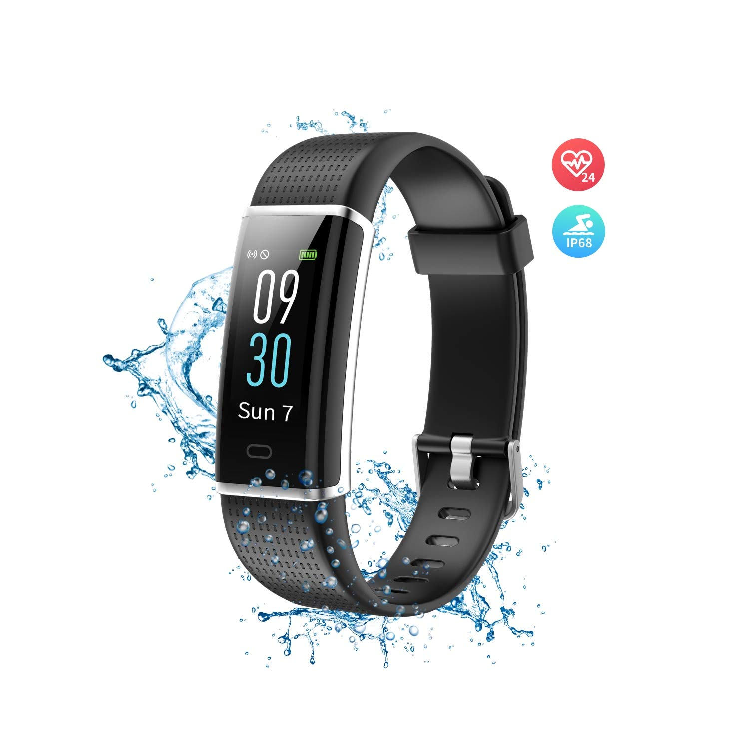Wonbo Fitness Tracker with Heart Rate Monitor,Color Screen Activity Tracker Smartwatch with Sleep Monitor,14 Sports Mode,Calories ...