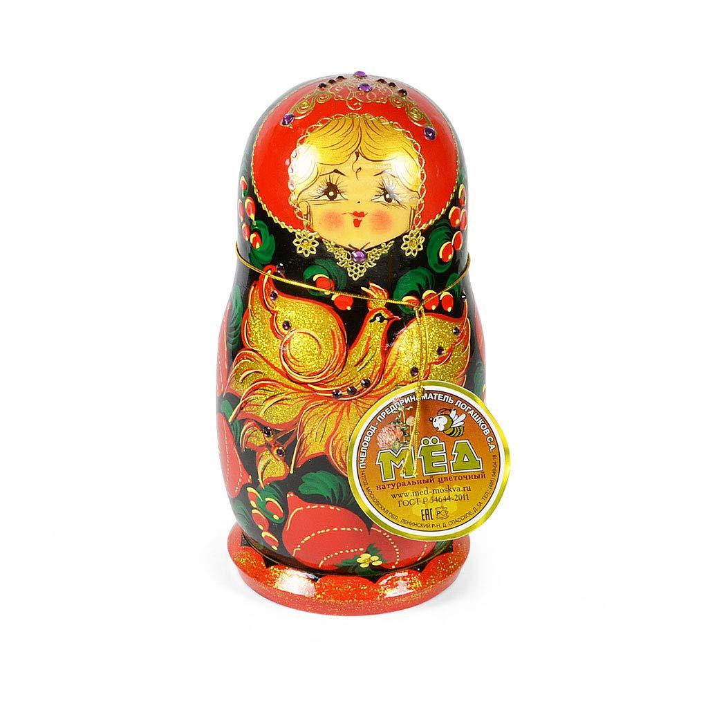 Handmade Traditional''Matryoshka'' with Natural Flower Honey, 10.14 oz / 300 oz by Handmade (Image #1)