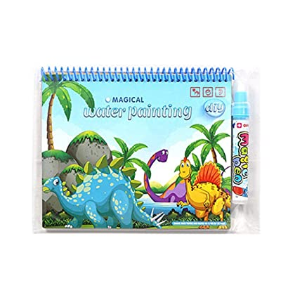 Iannan Children Baby Multicolor Cartoon Coloring Book Educational Toy Drawing & Sketch Pads: Clothing