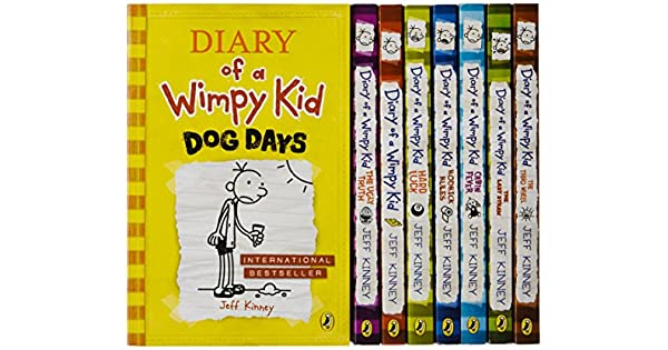 Diary of a wimpy kid box of books 1 8 the do it yourself book diary of a wimpy kid box of books 1 8 the do it yourself book jeff kinney amazon libros solutioingenieria Choice Image