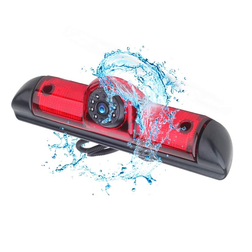 Reemplazo coche trasera vista c/ámara de marcha atr/ás Luz de Freno Monitor TFT LCD 4.3 Pulgadas para Fiat Ducato Citroen Jumper II Typ 250 Cam Citroen Relay Peugeot Boxer 06-17