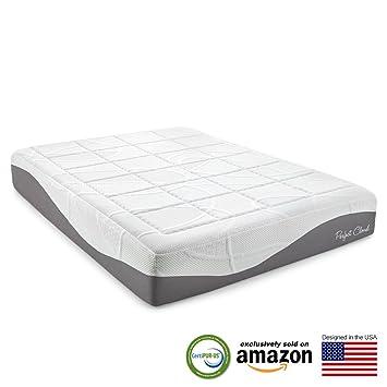 perfect cloud elegance gelpro 12 inch memory foam mattress king size - Memory Foam Matress