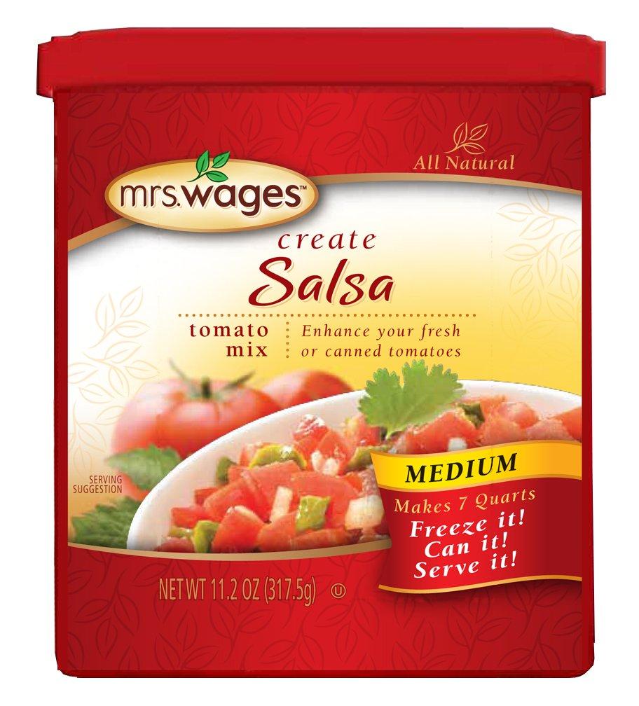 Mrs. Wages Salsa Tomato Mix, Medium