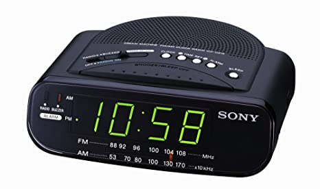 Amazon.com: Uso Solo Sony icf-c212 Dream Machine FM/AM Radio ...