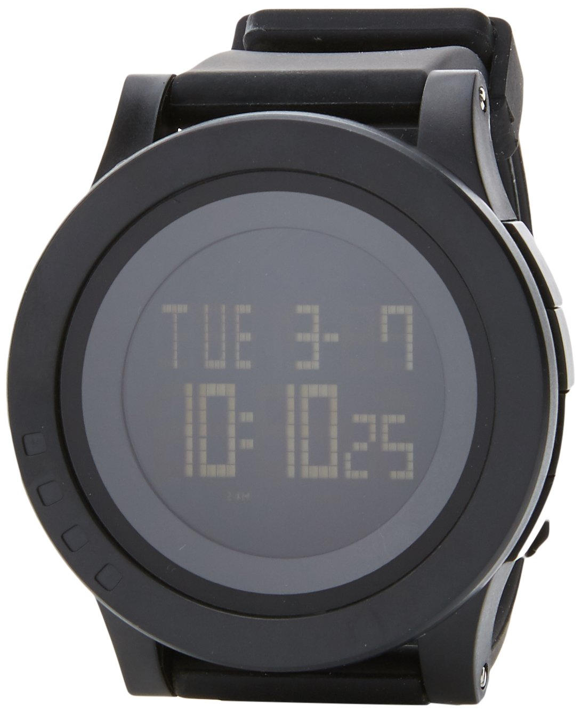 Kounga Chrono K1 Reloj Deportivo, Unisex Adulto, Negro/Gris, Talla Única