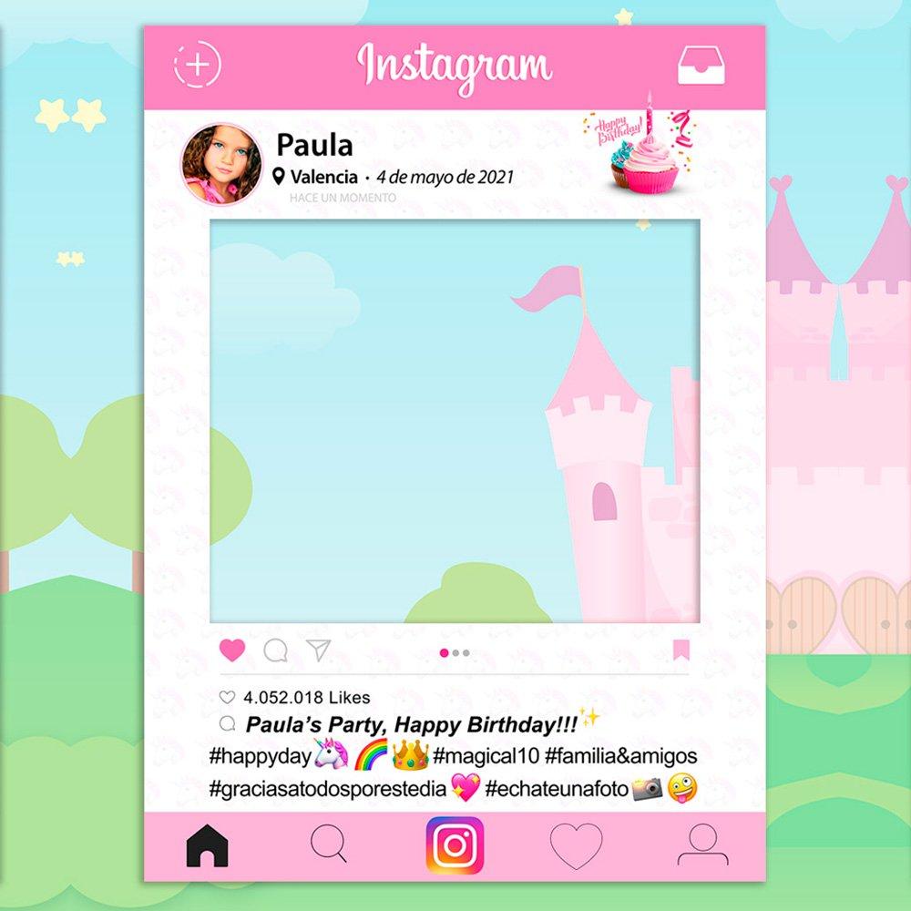 setecientosgramos Photocall Instagram | 90x120 | Ventana Instagram | Marco Instagram | PhotoBooth Instagram (Cartón 4mm)