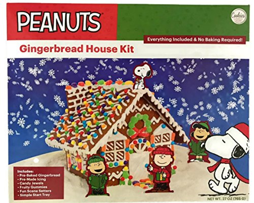 Peanuts Snoopy Gingerbread House ()