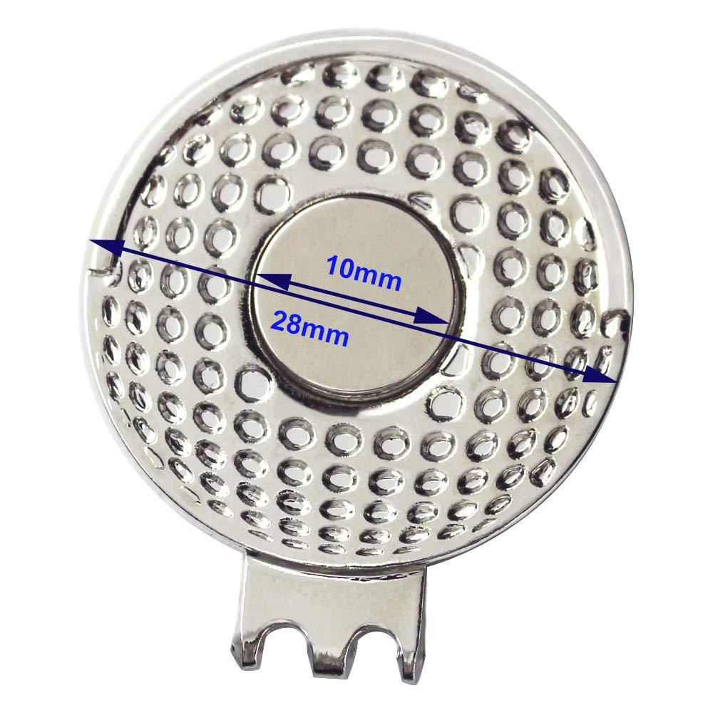 Amazon.com: Myartte - Marcadores para pelotas de golf y ...