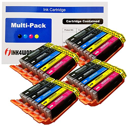 ack PGI-250XL & CLI-251XL Compatible Ink Cartridge Set for Pixma IP7220, MG5420, MG6320, MX722, MX922 (Canon Compatible Set)