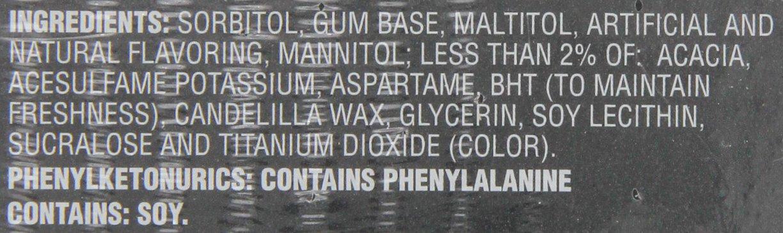 Dentyne Ice Sugar Free Gum (Arctic Chill  60 Piece  Pack of 4)