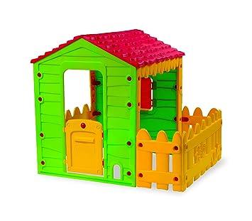 219591 Caseta de juego MY FARM HOUSE para interior y exterior 127x118x146 cm: Amazon.es: Juguetes y juegos