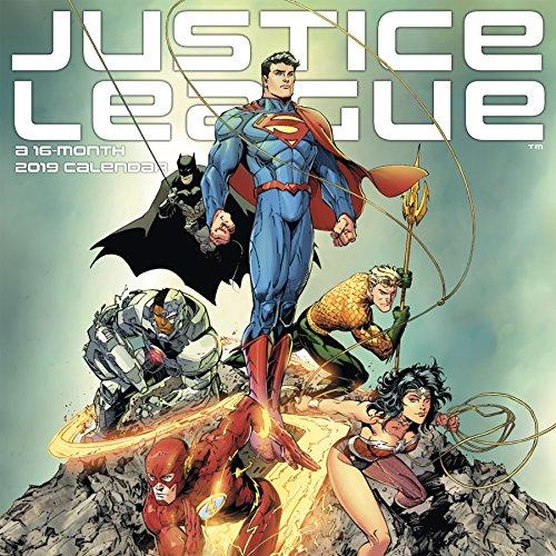2019 The Justice League (Classic) Wall Calendar -
