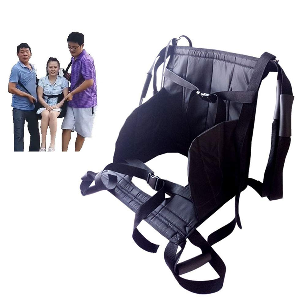 GFYWZ Aide Transfer Lift Sling for Transfers, Secure & Safe Lift Bedridden,Disabled Toileting Sling Patient Lifter,B by GFYWZ