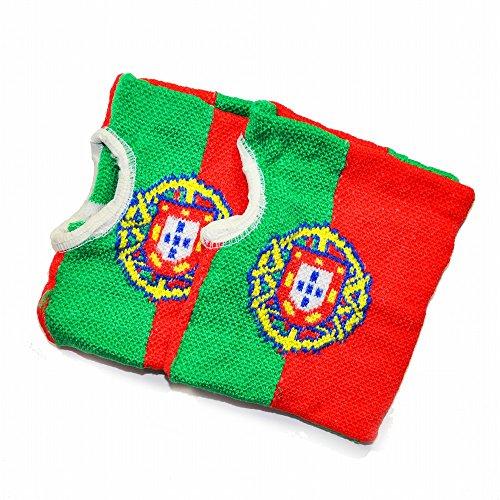 (ピッコロボンネット) PiccoloBonnet  国旗柄ハンドウォーマー ポルトガル HW-1409