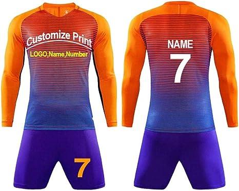WDSLHH Jerseys Camisetas de fútbol para niños Hombres niños Juegos ...
