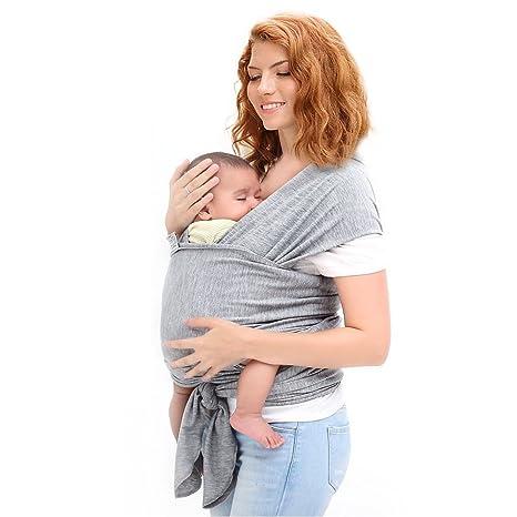 Ostenx Echarpe de Portage Pour Transporter le Bébé,Sac à dos Porte Bébé  CuddleBug pour da34efb466f