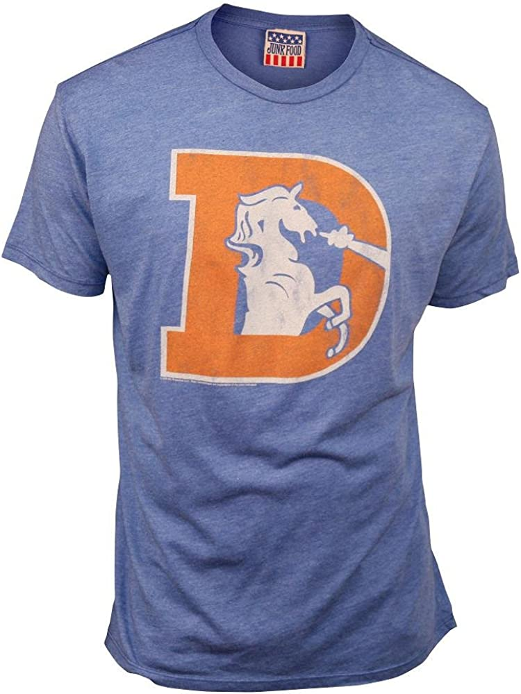 NFL Denver Broncos Men's Vintage Short Sleeve T-Shirt (Liberty)