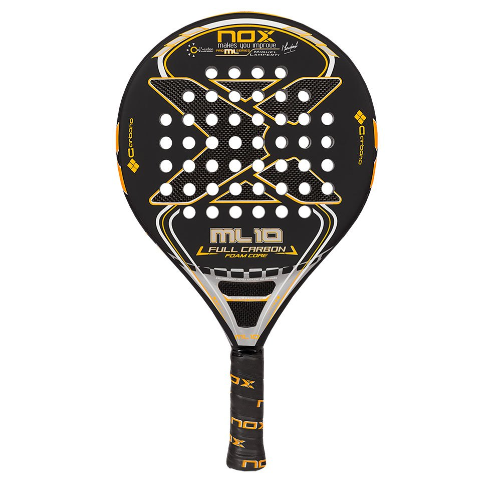 Nox - Pala de pã¡del ml10 Full Carbon Foam: Amazon.es: Deportes y ...