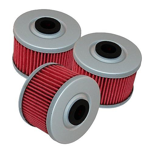 Caltric 3 Pack Oil Filter Fits HONDA CBR250R CBR-250R CBR 250R 2011-2013